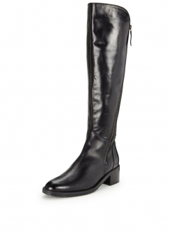 Clarks Valana Melrose Knee Boot - Black