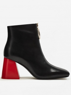 Heel Contracts Ankle Boot