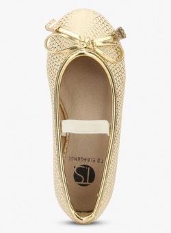 Golden Belly Shoes
