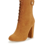 High Leg   Boots - Brown